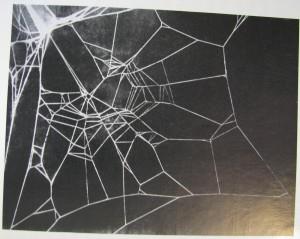 caffeine spider web
