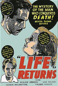 life returns movie poster